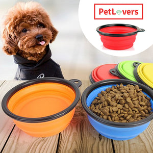Collapsible dog bowl 🐶