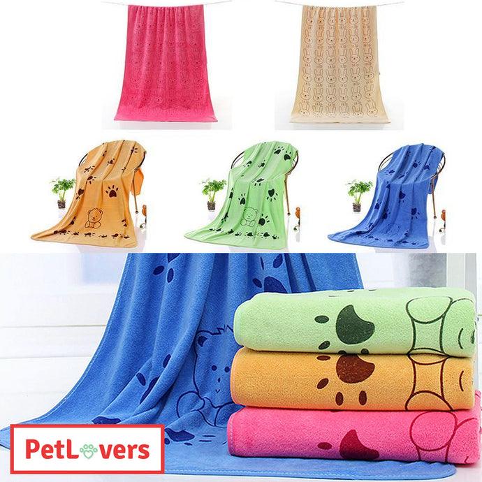 Absorbent dog towel | 🐶