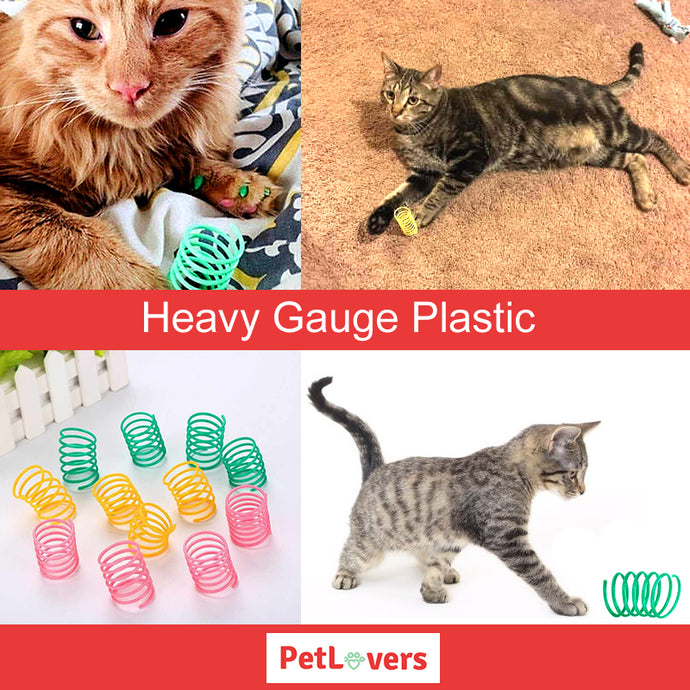 Durable plastic cat toys | 😺
