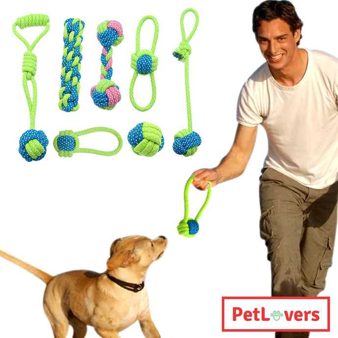 Rope ball dog toy | 🐶