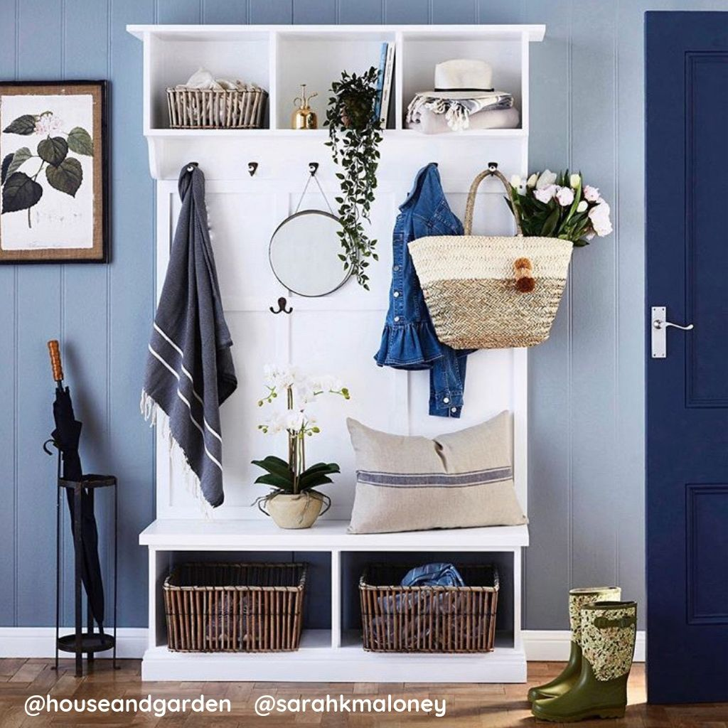 Customise your own Mudroom and hallway storage station