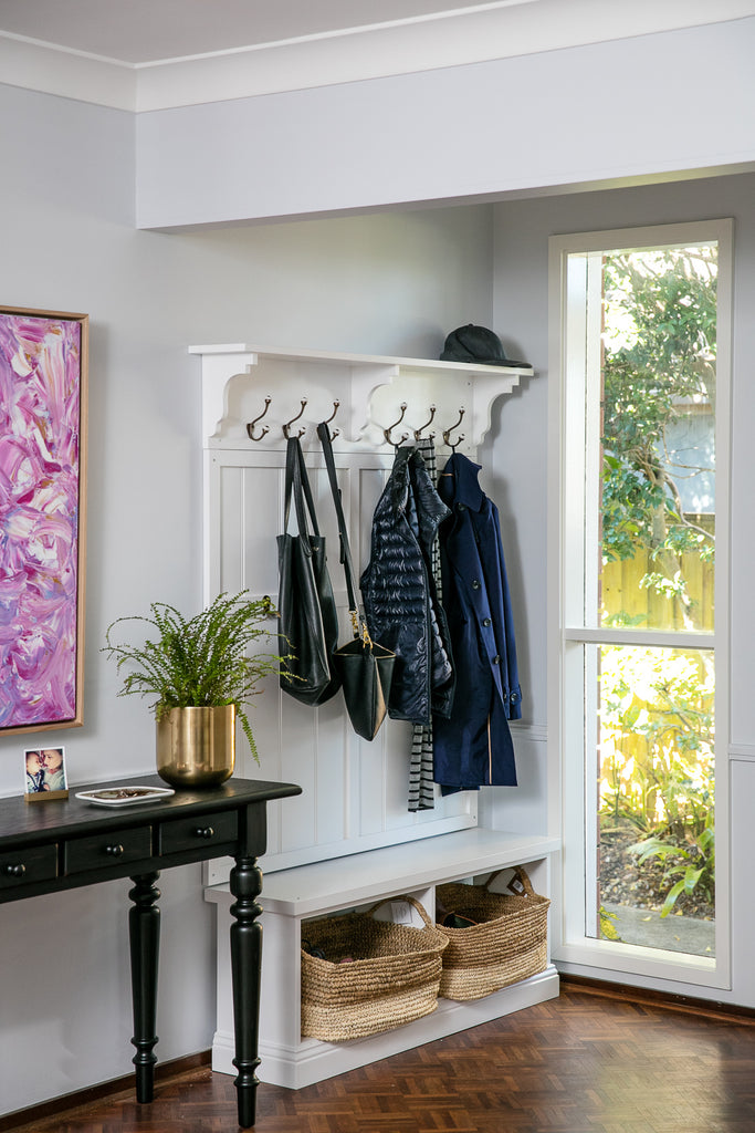Mudroom & Hallway Storage