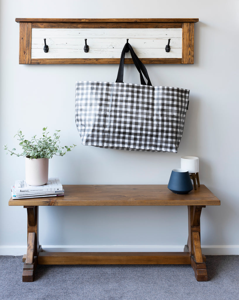 Recycled Timber Hooks in White