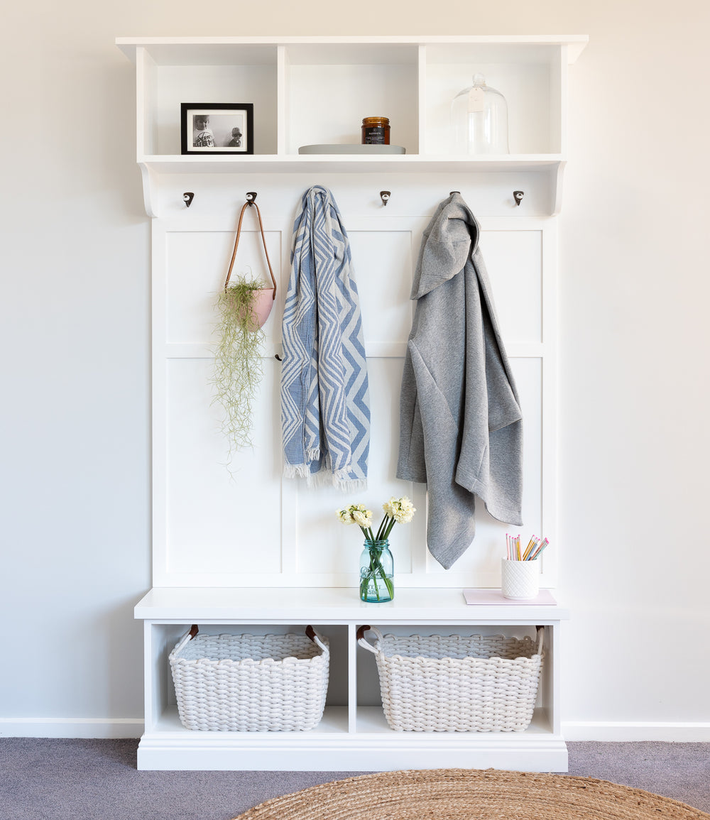 Traditional Mudroom 3 Piece Set