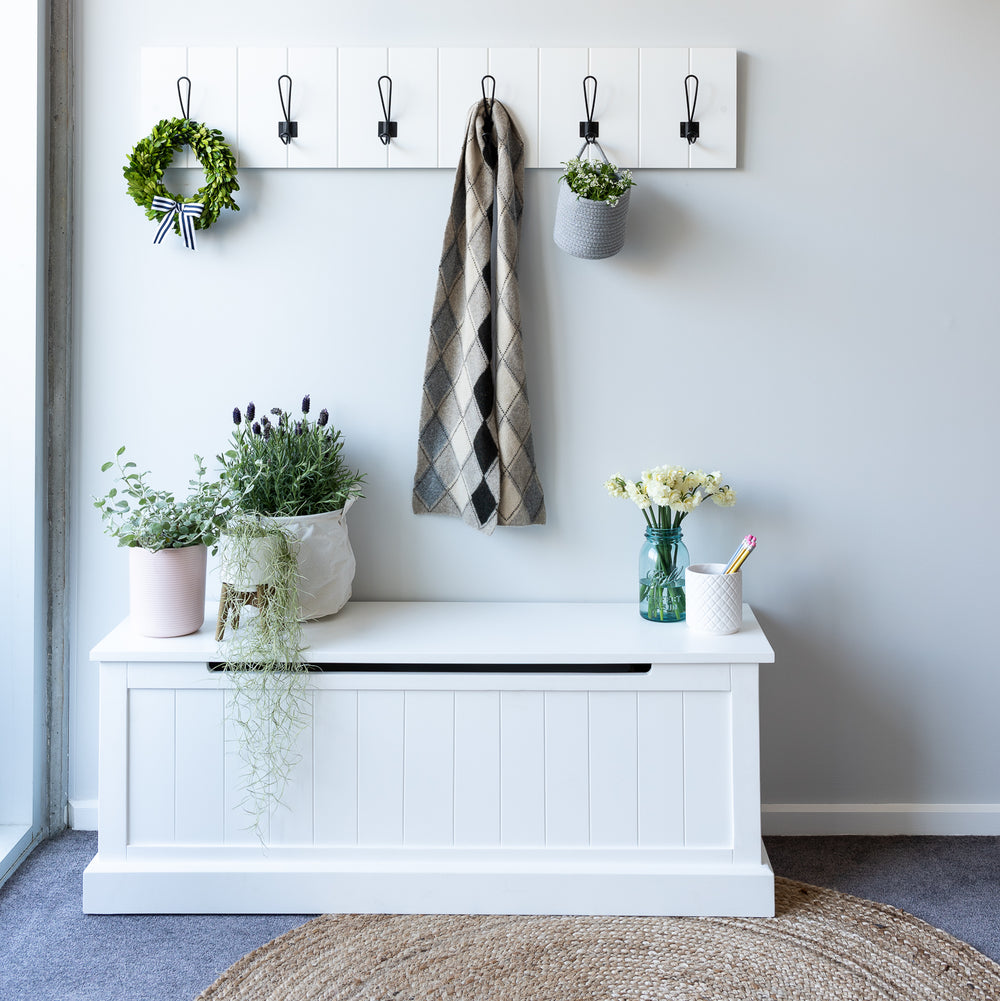 Farmhouse Mudroom 2 Piece Set