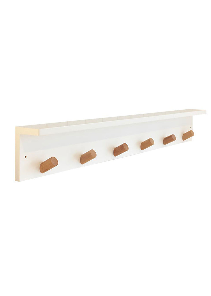 Scandi Peg Shelf