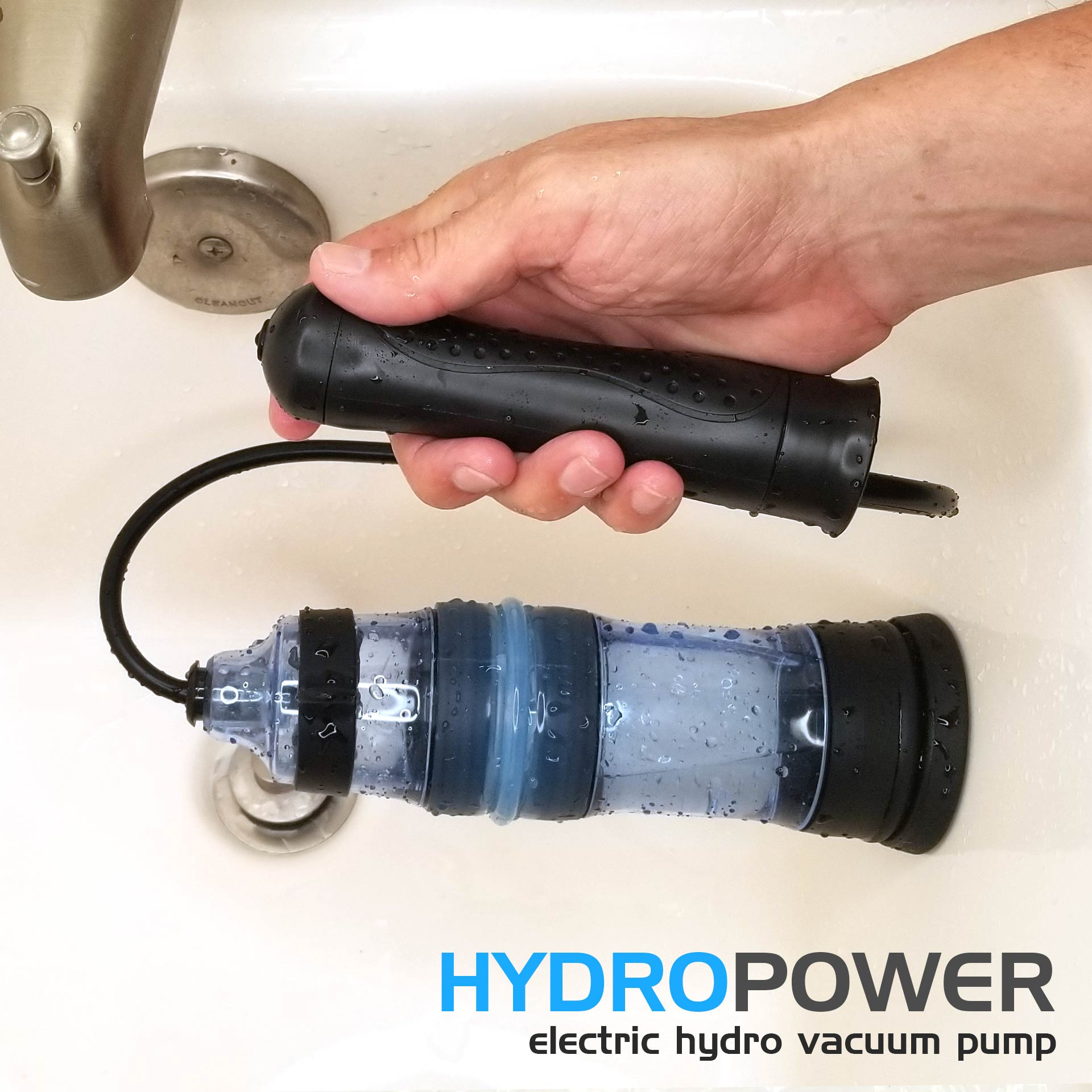 HydroPower - Electric Hydro/Water Penis Pump