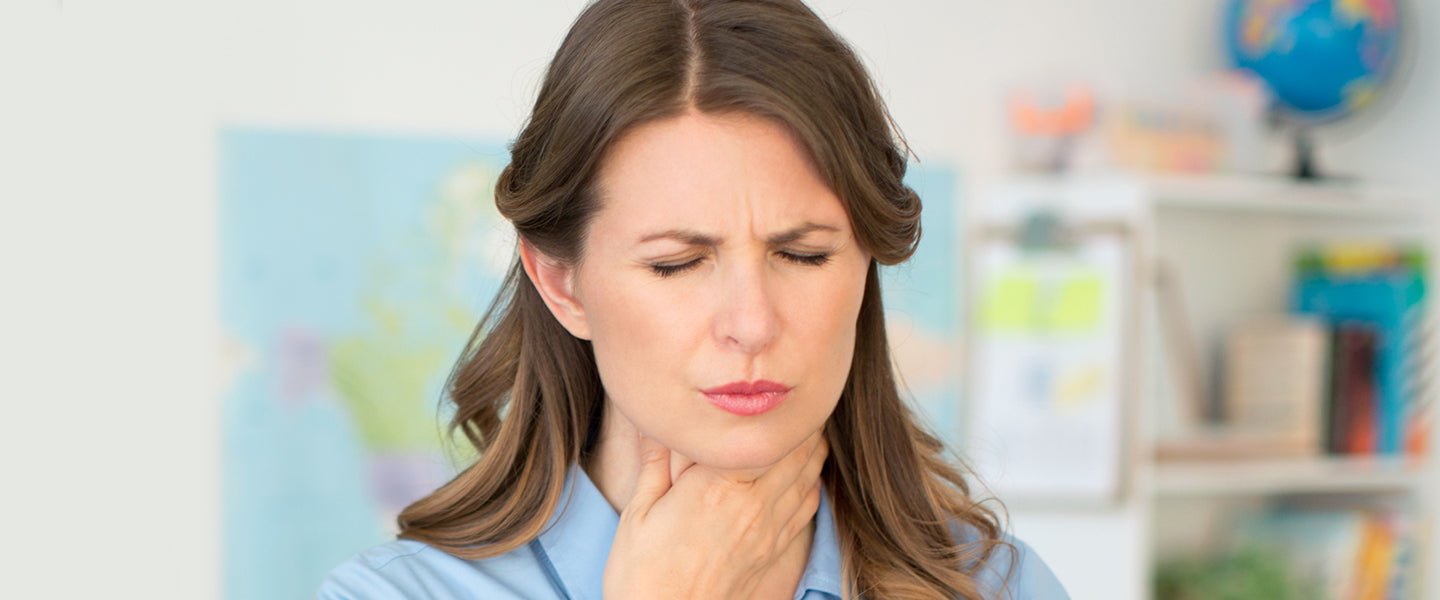 Top tips to fight throat pain