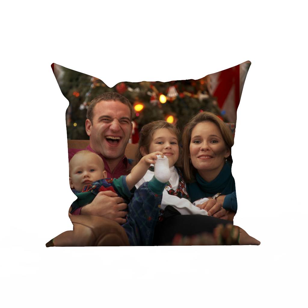Custom pillow case - A Happy Family
