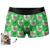 Men's Custom Face Boxer Shorts - Cat Claw and Bone