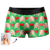 Custom Heart Men's Photo Boxer Shorts