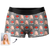 Men's Custom Face Colorful Boxer Shorts - Lover