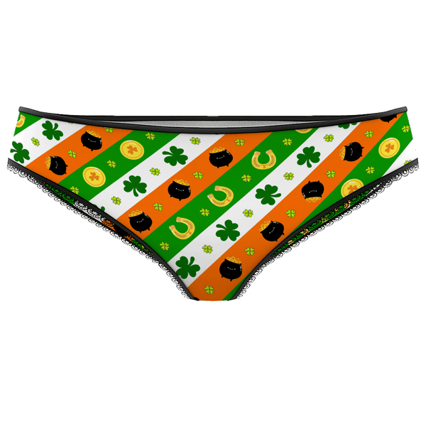 Women's Panties - Lucky Gold Pouch
