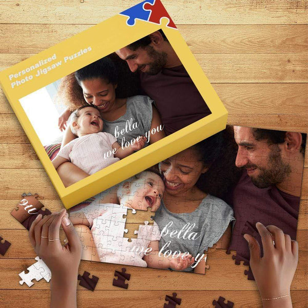 Custom Photo Jigsaw Puzzle Best Gifts for Baby 35-1000 pieces
