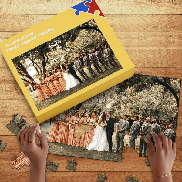 Custom Photo Jigsaw Puzzle Best Indoor Games For Wedding Gifts 35-1000 pieces