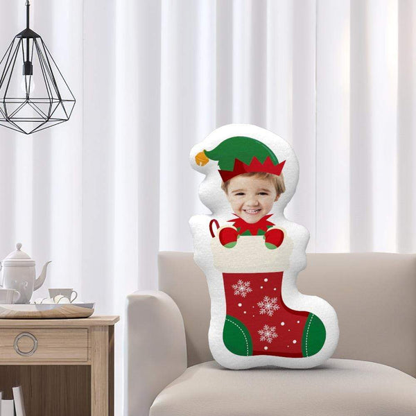 Custom 3D Face Pillow Christmas Decoration