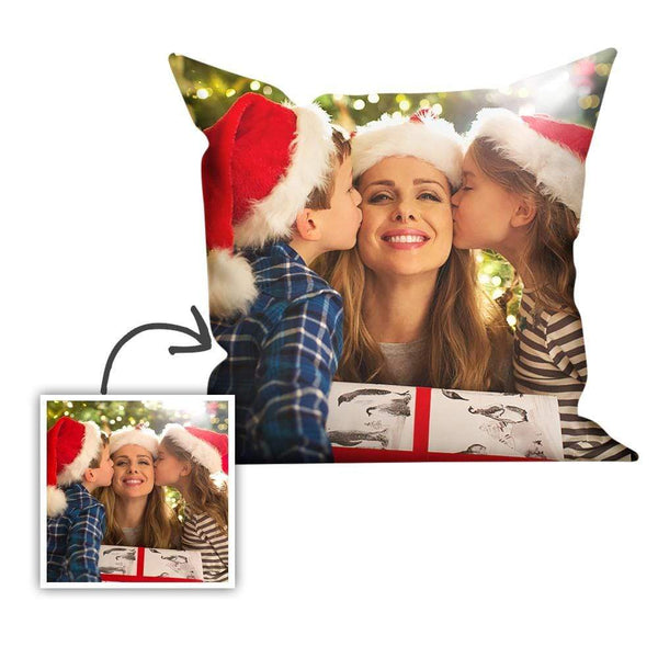 Custom Photo Pillowcase Throw Pillow Christmas Decoration