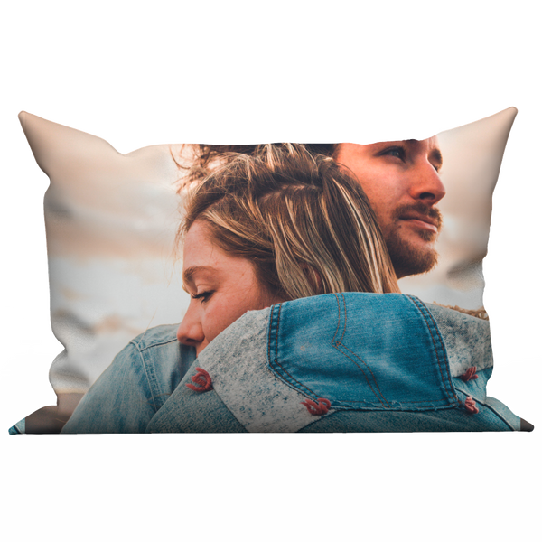 Custom pillow case - Lovers hugging
