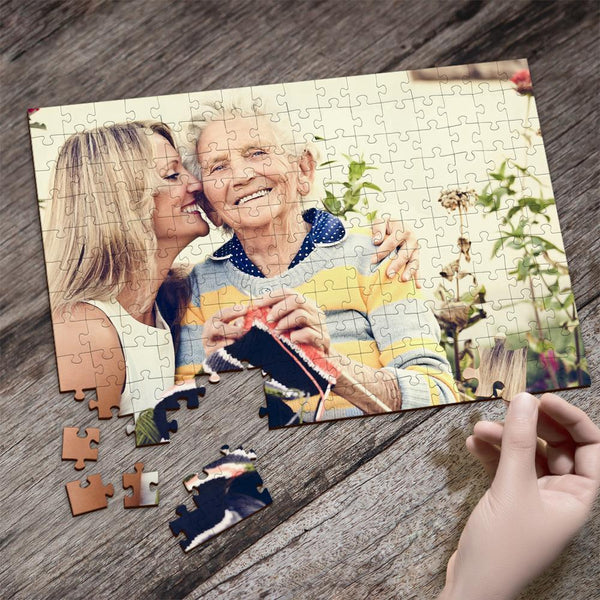 Custom Photo Jigsaw Puzzle Best Indoor Games for Mom's Gift 35-1000 pieces