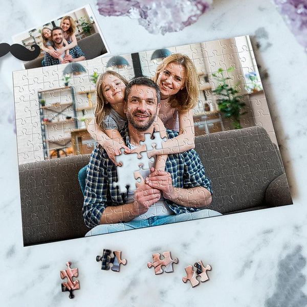 Custom Photo Jigsaw Puzzle Best Indoor Games Happy Moment 35-1000 pieces