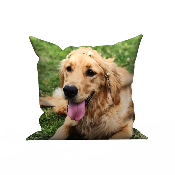 Custom pillow case - Happy pets