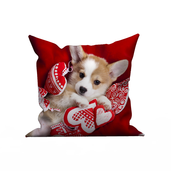 Custom pillow case - lovely pet dog