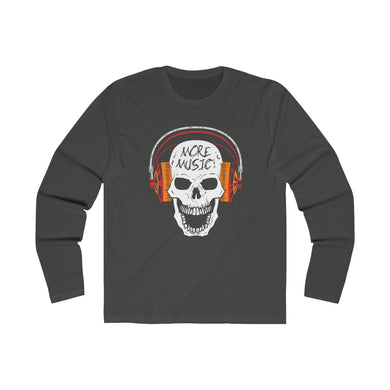 More music Men's Long Sleeve Crew Tee 102