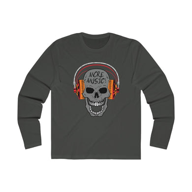 More Music Men's Long Sleeve Crew Tee 101