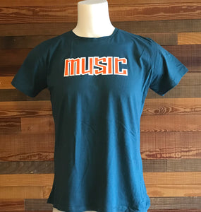 MUSIC 0220K Ladies T-Shirts