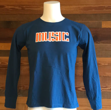 MUSIC 0220M Ladies Long Sleeve