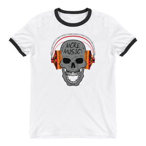 More Music 0518MM Unisex Ringer T-Shirt