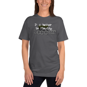 Soccer 0428 Ladies T-Shirt