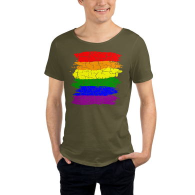 Cracked Pride 626 Unisex Raw Neck Tee