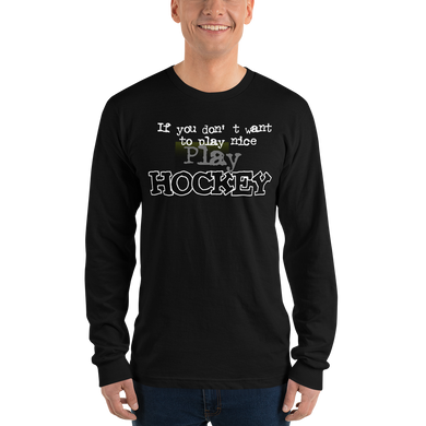 Hockey 0805 Unisex Long sleeve t-shirt