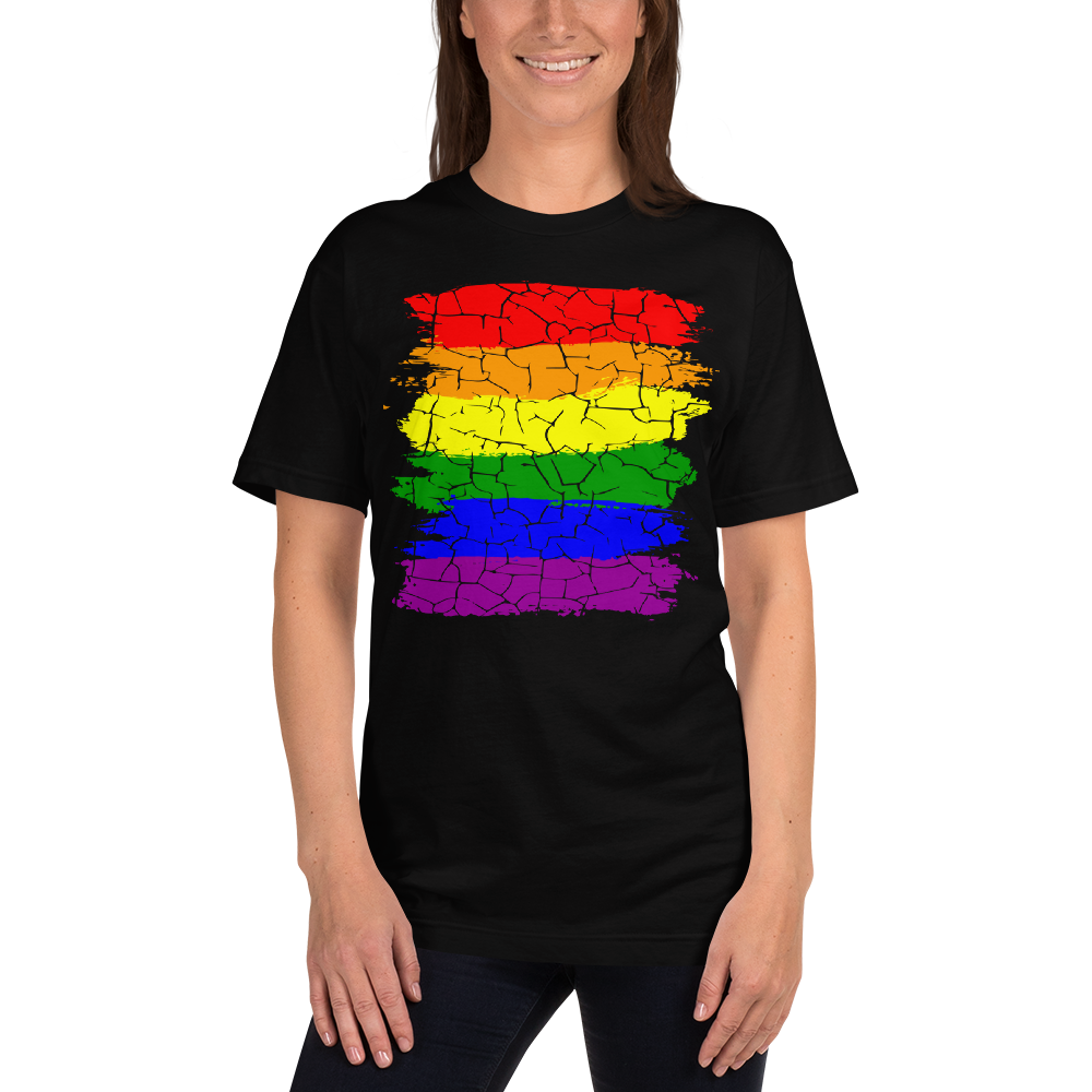 Cracked Pride 426 Ladies T-Shirt
