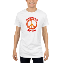 Load image into Gallery viewer, My Vibe 7070 Men Long Body Urban Tee