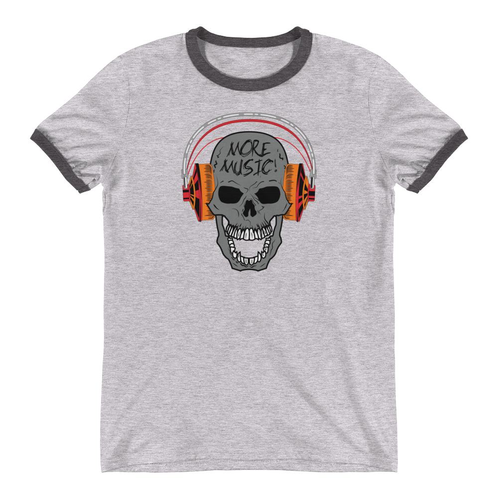 More Music 0815MM Unisex Ringer T-Shirt