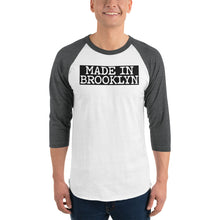 Load image into Gallery viewer, Made In Brooklyn 0825BK Men 3/4 sleeve raglan shirt