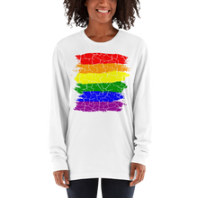 Load image into Gallery viewer, Cracked Pride 68 Ladies Long sleeve t-shirt