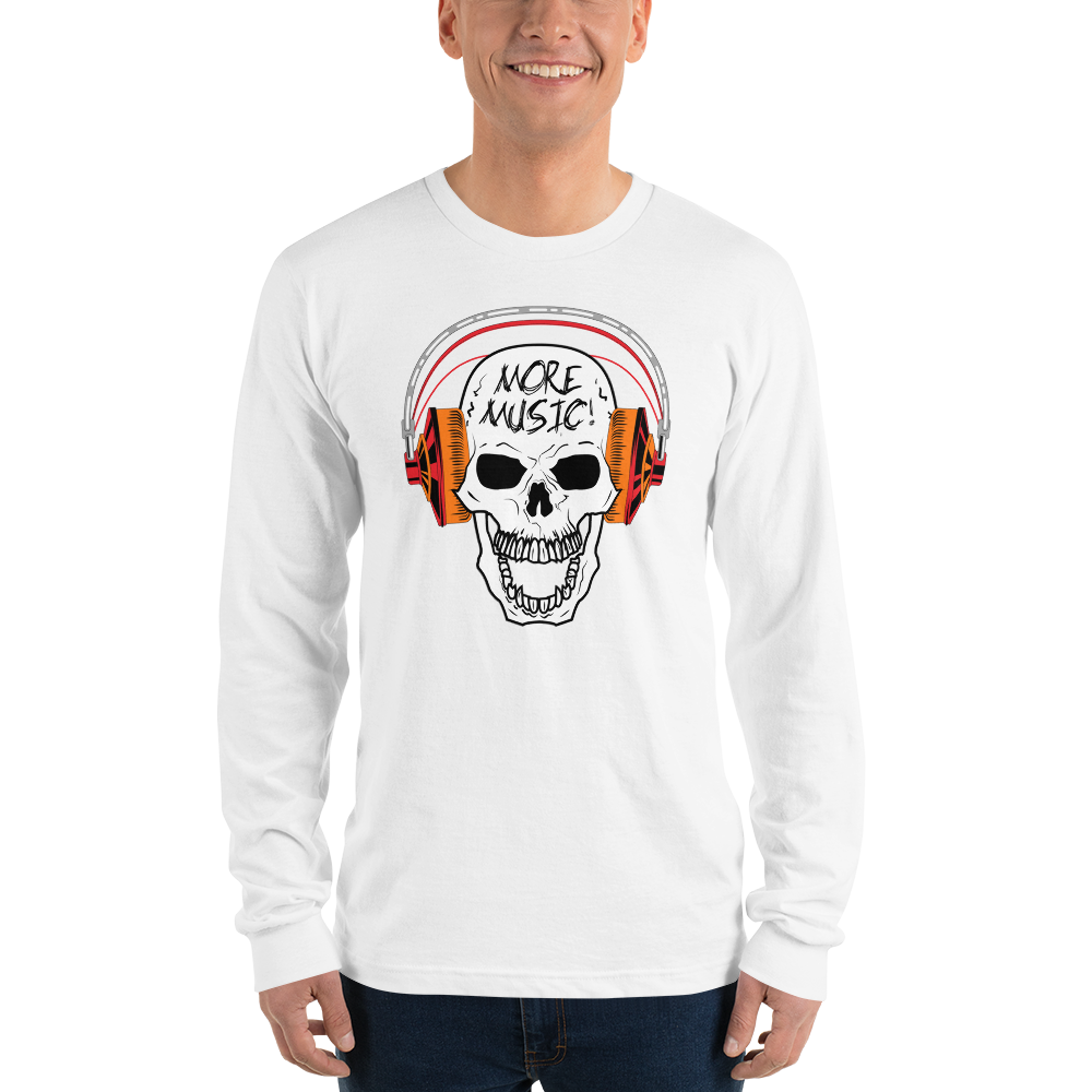 More Music 0806MM Unisex Long sleeve t-shirt