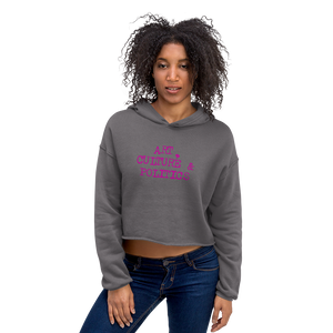Art 0428 Ladies Crop Hoodie