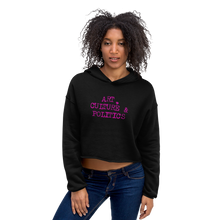 Load image into Gallery viewer, Art 0428 Ladies Crop Hoodie