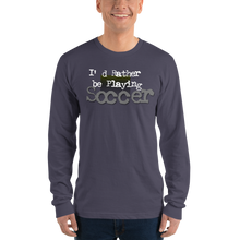 Load image into Gallery viewer, Soccer 0894 Unisex Long sleeve t-shirt