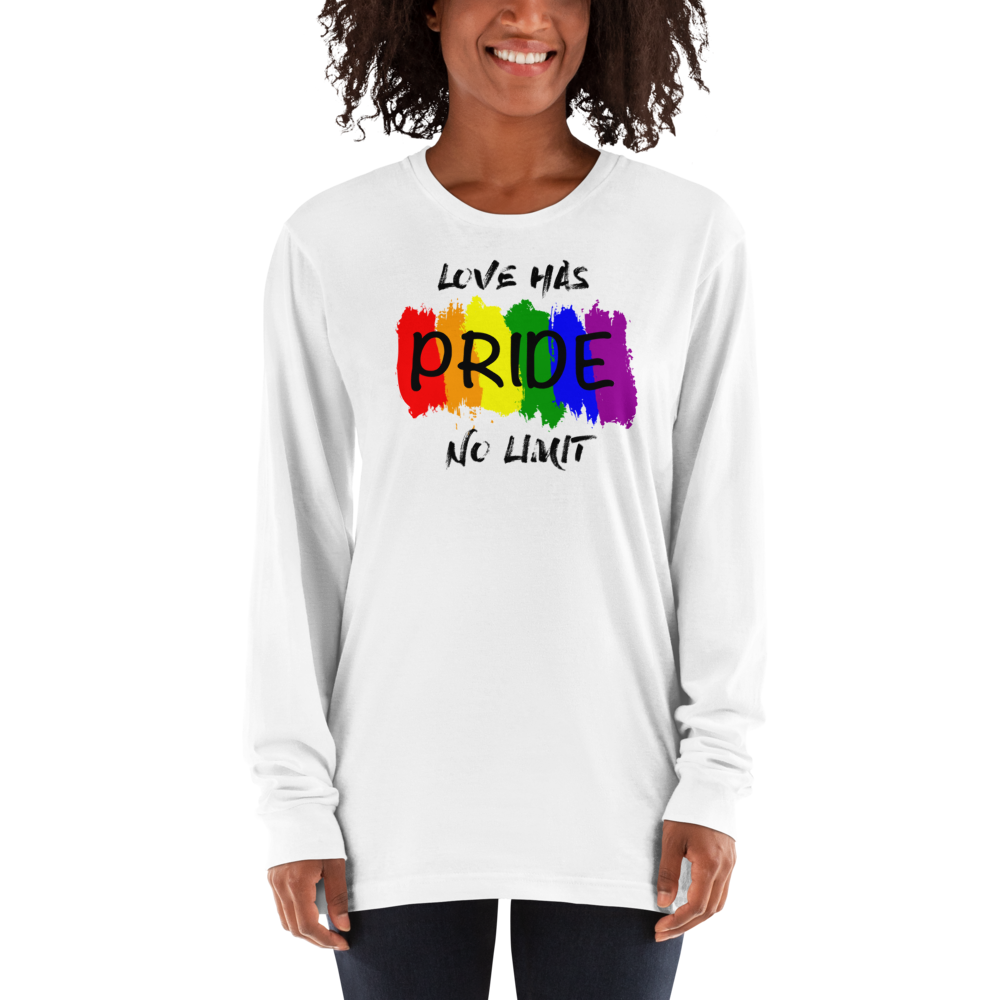 Pride 404 Long sleeve t-shirt