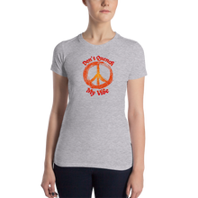 Load image into Gallery viewer, My Vibe 1520 Women's Slim Fit T-Shirt