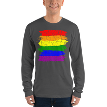 Load image into Gallery viewer, Cracked Pride 69 Men Long sleeve t-shirt