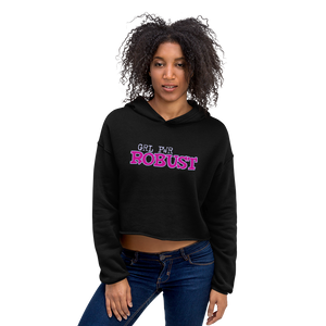 Robust 0428A Ladies Crop Hoodie
