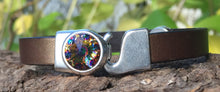 Load image into Gallery viewer, Leather Bracelet - Bronze Bling
