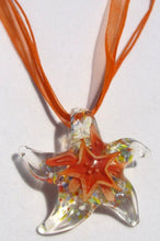 Load image into Gallery viewer, Fragile Heart - Starfish - Orange Mulitcolored