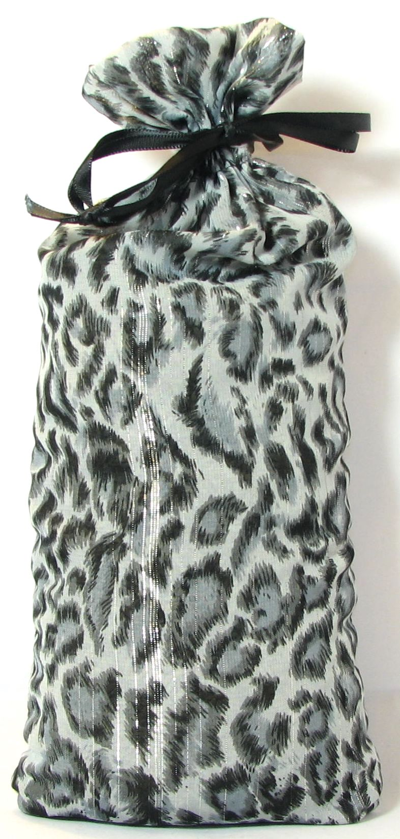 Silver and Gray Leopard